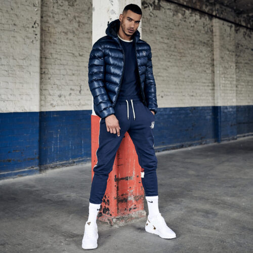 Piumino - Atmosphere Navy - SikSilk