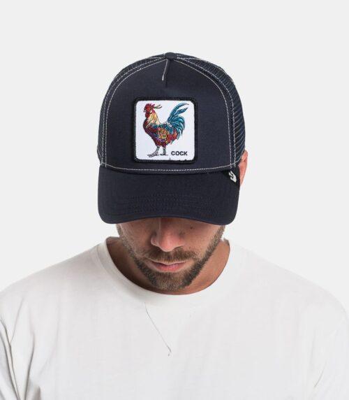 Cappello Blue Cock