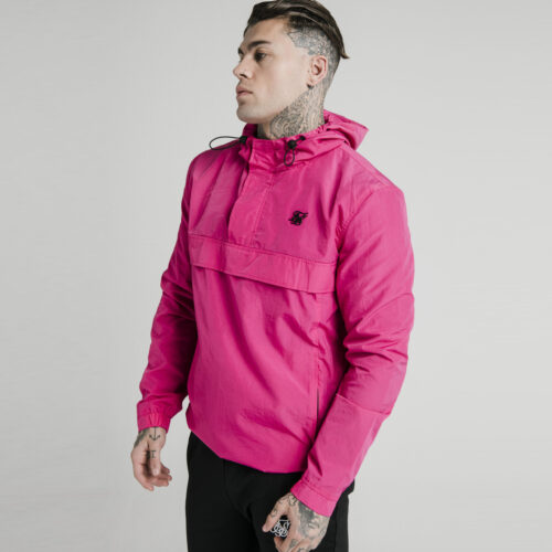Windbreaker - Fade Grey & Pink - SikSilk