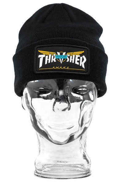 Snapback - Embroidered Gold - Thrasher Venture Collab