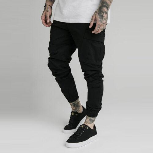 Pantalone - Cargo Black - SikSilk