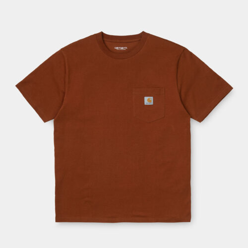 T-Shirt - Pocket Brown - Carhartt wip