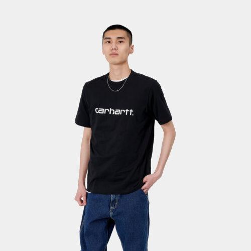 T-Shirt - Logo Black - Carhartt wip