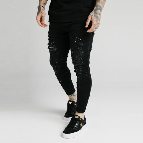 Jeans - Distressed Riot - SikSilk