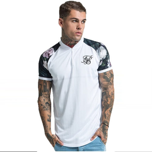 T-Shirt - Floral Stripe - SikSilk