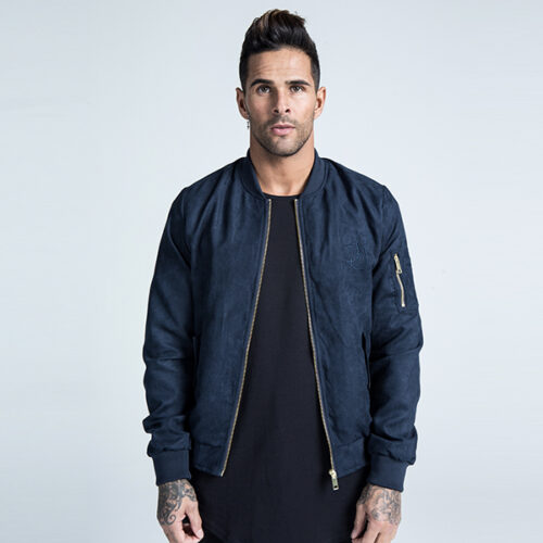 Bomber - Suede Blue - SikSilk