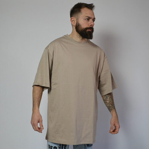 T-Shirt - Over Beige - Handmade