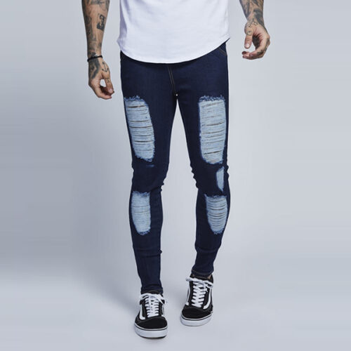 Jeans - Rise Rip - Illusive London