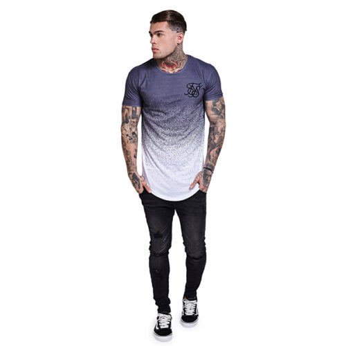 T-Shirt - Dispersed Grey - SikSilk