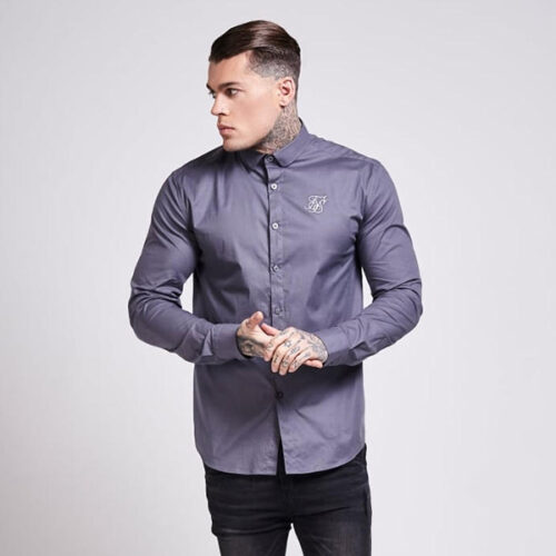 Camicia - Poly Grey - SikSilk