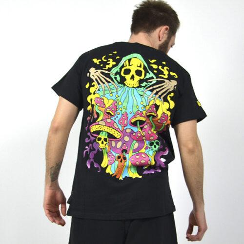 T-Shirt - Skull Mush - Mushroom