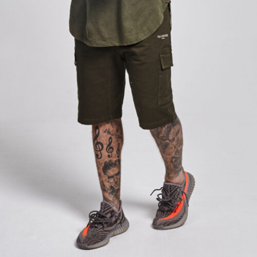 Pantaloncino - Cargo Green - Illusive London