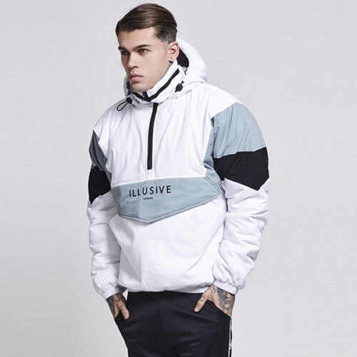 Windbreaker - White Snow - Illusive London