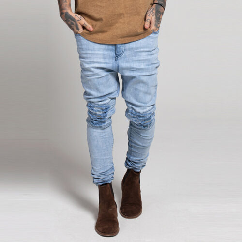 Jeans - Pleat Crotch - SikSilk