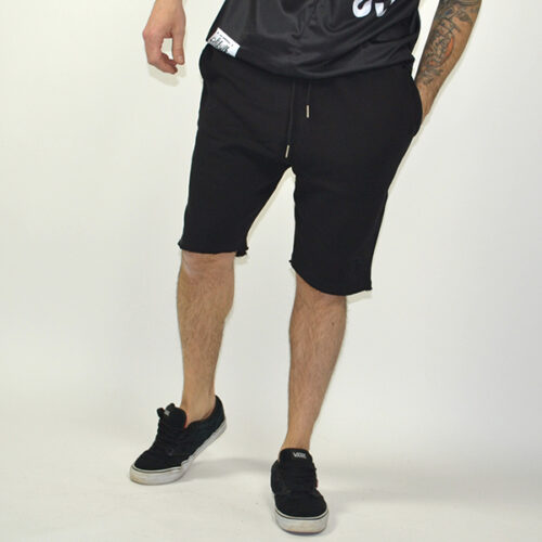Pantaloncino - Distressed Black - SikSilk