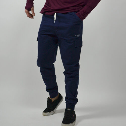 Pantalone - Cargo Blue - Illusive London