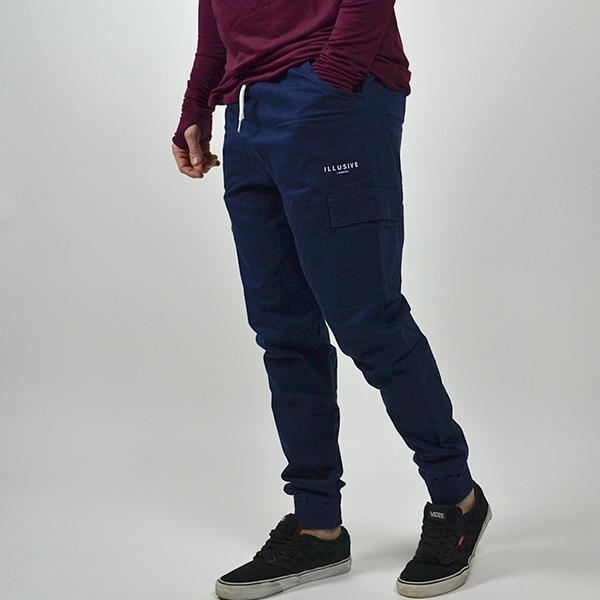 Pantalone - Cargo Blue - Illusive London